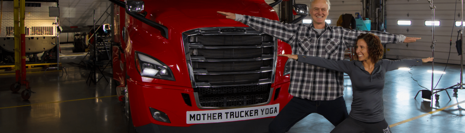 yoga for truckers - yoga pose