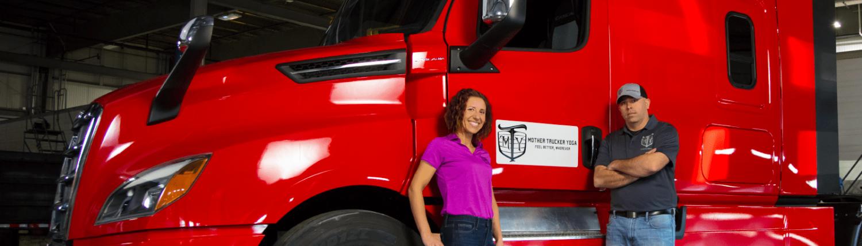 Mother Trucker Yoga - Hope & Phil