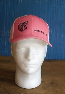 Mother Trucker Yoga Ladies Pink Hat