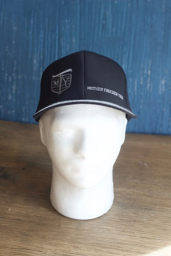 Mother Trucker Yoga Hat - Black
