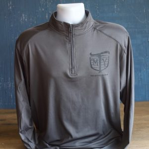 mother trucker pullover 1/4 zip