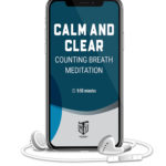 Calm and Clear counting breath mediation mother trucker yoga audio meditation