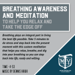 Breath Awareness Meditation For Stress Relief and Healthy Trucker Lifestyle from Mother Trucker Yoga. 5-minute guided meditation audio.