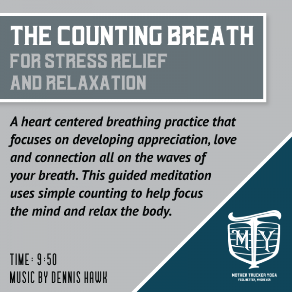 Count Breath Meditation