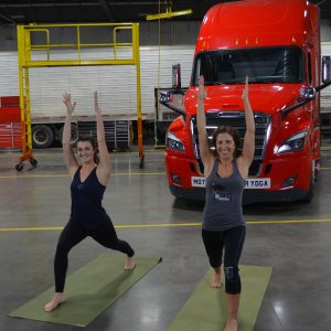 Yoga Pose for Truckers