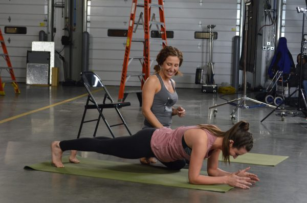 Mother Trucker Yoga Pose