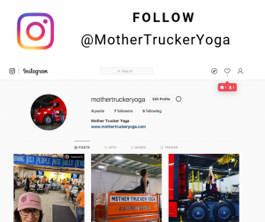 Mother Trucker Yoga Instagram