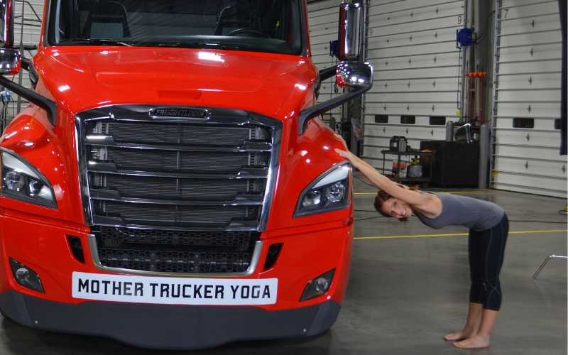 Trucker Fitness - Downward Dog Blog