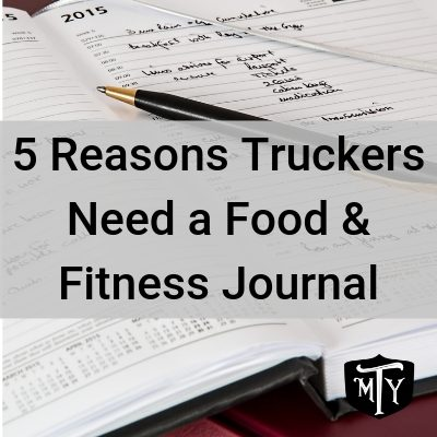 Trucking Food and Fitness Tracker