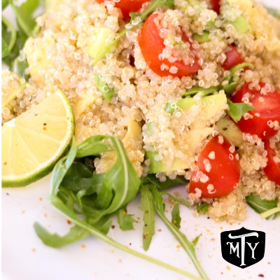 Healthy Trucker Food Lunch Quinoa Recipe Mother Trucker Yoga