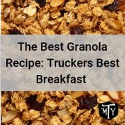 Granola Recipe Mother Trucker Yoga