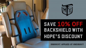 MotherTruckerYoga Backshield Discount
