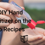 Hand Sanitizer DIY Recipes Mother Trucker Yoga