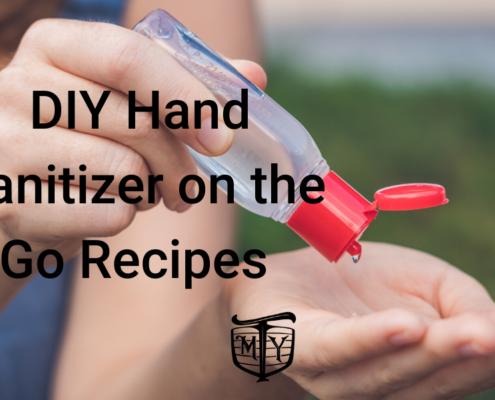 Hand Sanitizer DIY Recipes Mother Trucker Yoga