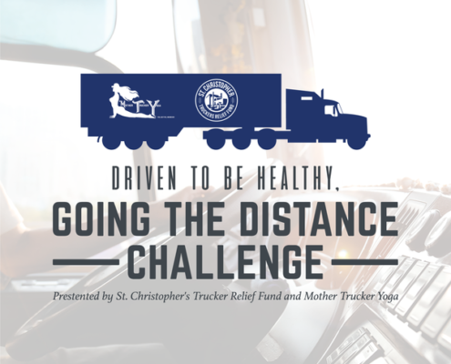 Truck Driver challenge with RoadPro and Mother Trucker Yoga
