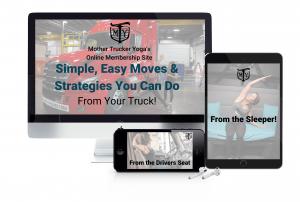 Mother Trucker yoga membership site