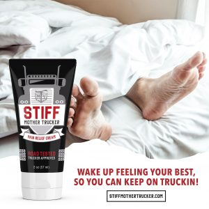 STIFF Mother Trucker Pain Relief Cream Wake Up Feeling Great